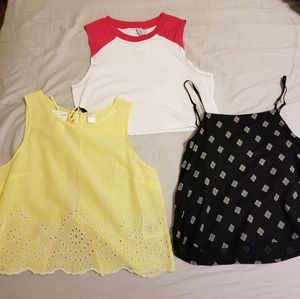 H&M Spring/Summer Tops NWT